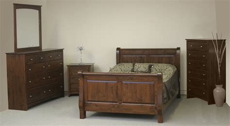 alder bedroom set wr mattress