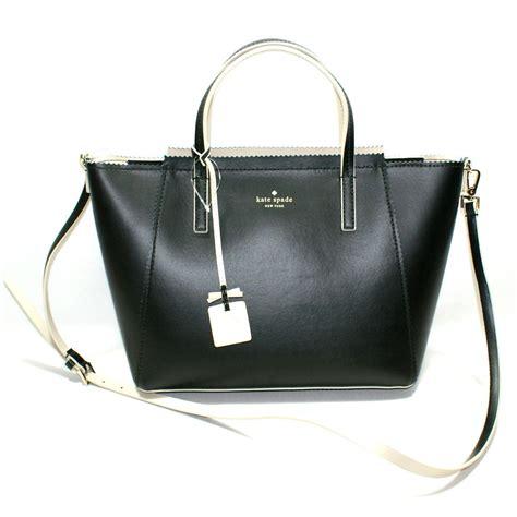 Katespade Loryn 1 kate spade loryn drive black leather handbag