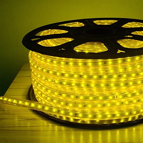 yellow led rope light outside led pool lighting led