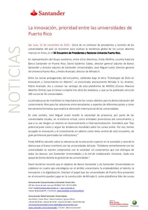 banco santander puerto rico resultados santander puerto rico www macro simulador de