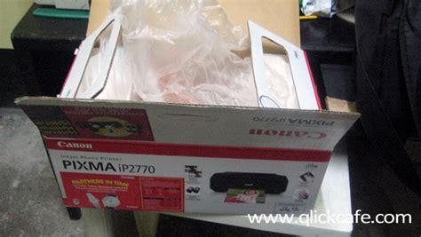Printer Canon Ip 2770 Di Hi Tech Mall Surabaya unboxing my canon ip 2770 qlick tech