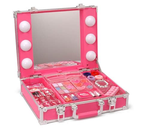 Light Up Makeup Vanity by Station Makeup Light Up Vanity Box Mirror