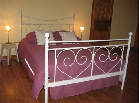 lit 2 personnes fer