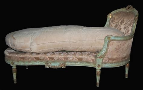 decorative chaise lounge decorative french painted chaise lounge for sale