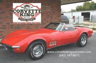 1969 chevrolet corvette convertible matching numbers
