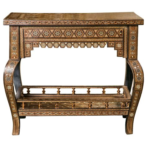 Middle Eastern Furniture by Middle Eastern Side Table At 1stdibs