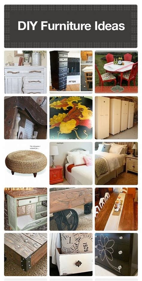 diy furniture ideas diy craft projects