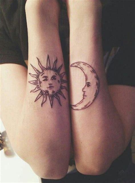 imagenes tatuajes sol y luna tattoo sun and moon with face sol y luna con cara