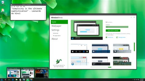 windowblinds theme windows interface windowblinds software from stardock