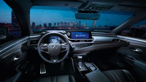 lexus sport car interior 2018 lexus es 300h f sport interior wallpaper hd car