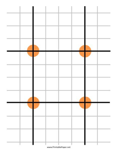 grid pattern target printable grid target