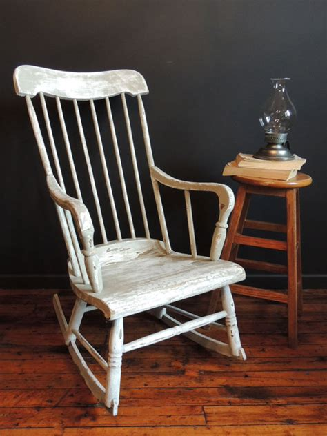 White Wood Rocking Chair Antique Rocking Chair Prices Antique Furniture