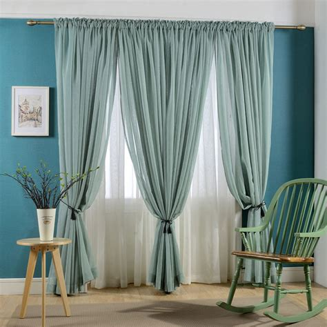 dye sheer curtains faux linen voile curtain solid color sheer curtains rod