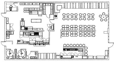 layout family restaurant restaurant layout and design