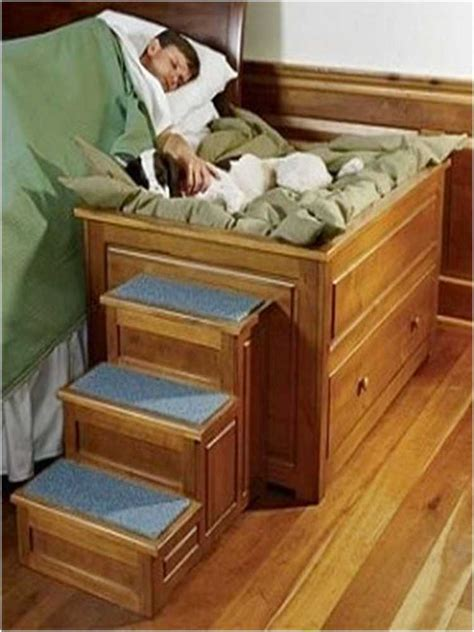 Ikea Under Bed Storage bedside dog bed with stairs home design amp remodeling ideas
