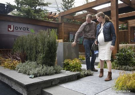 bc home and garden show displays gardening designs in