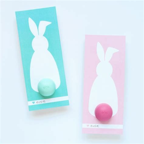 lip balm card holder template eos lip balm bunny 14 easter freebies paging supermom