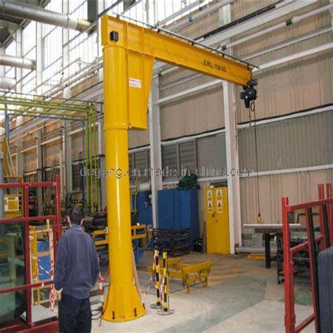 china electric column mounted pedestal jib crane china - Pedestal Jib Crane