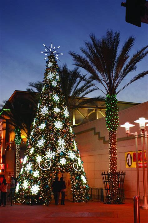 giant walk  commercial christmas tree commercial