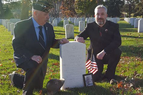 508765 the last day of wwi new headstone at arlington for marine private who fell on