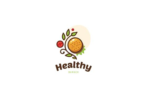 Gourmet Home Kitchen Design by Healthy Burger Logo Food Logo Design Logo Cowboy