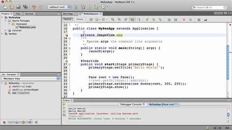 javafx tutorial netbeans part 1 building your first javafx application using