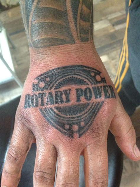 engine tattoo rotary engine engine and