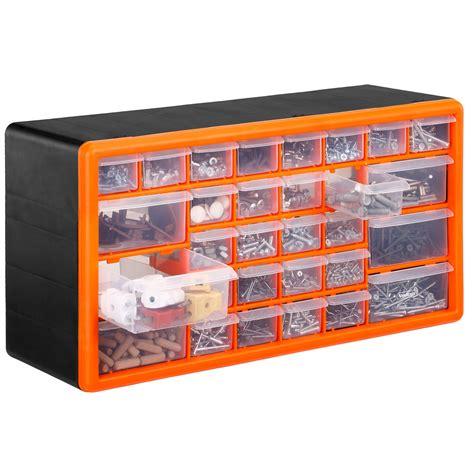 Organiser Garage by Vonhaus 30 Drawer Parts Storage Organiser Cabinet Home