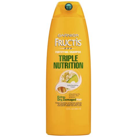 shoo garnier triple nutrition extra dry damaged hair garnier fructis triple nutrition fortifying shoo 13 fl