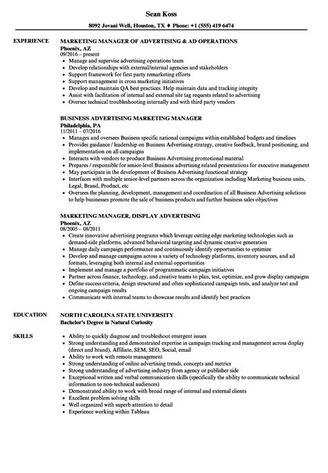 ad operations resume resume ideas