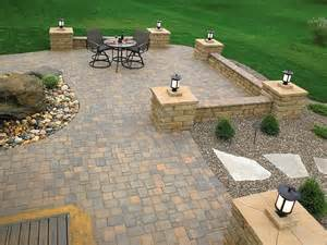 Ideas For Paver Patios Design Backyard Patio Designs With Pavers Design Ideas