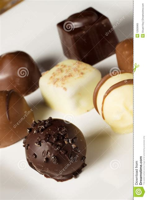 Handmade Truffles - handmade chocolates royalty free stock photo image 12926965