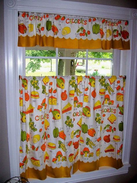 yellow and green kitchen curtains 17 best images about vintage on pinterest pattern design