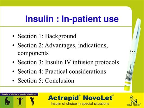 section 3 patient ppt insulin in patient use powerpoint presentation
