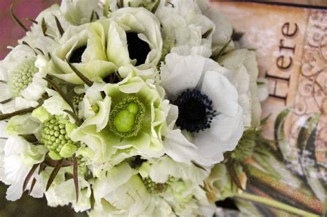 Wedding Bouquet January by Seasonal Wedding Flowers For December And January