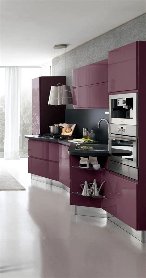 modern kitchen design  white cabinets bring