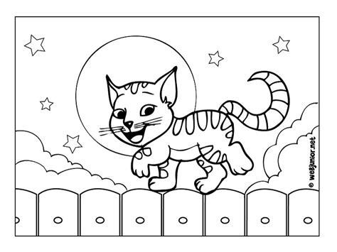coloriage de chaton a imprimer az coloriage chaton sur une palissade coloriage animaux gratuit sur
