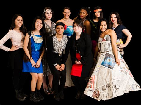 School Of Fashion Exhibiton Mba Exhibition by Trashy Fashion Show Features Niles West And Niles