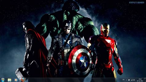 download theme windows 7 avengers full downloads for free the avengers 2012 film windows 7
