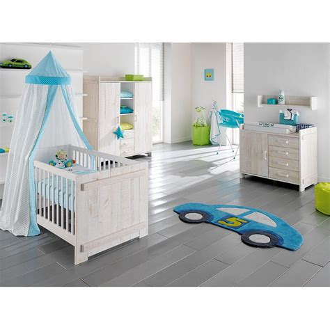 kidsmill europe baby jelle white nursery furniture set