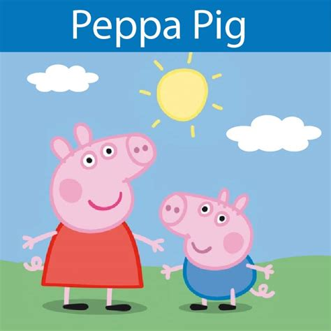 peppa pig printable birthday decorations 4 best images of peppa pig party printables free free