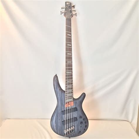 ibanez fanned fret bass ibanez srff805 fanned fret 5 string electric bass guitar