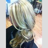 Dark Brown And Blonde Chunky Highlights | 736 x 985 jpeg 318kB