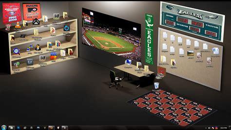 wallpaper computer room desk and shelves desktop wallpaper wallpapersafari
