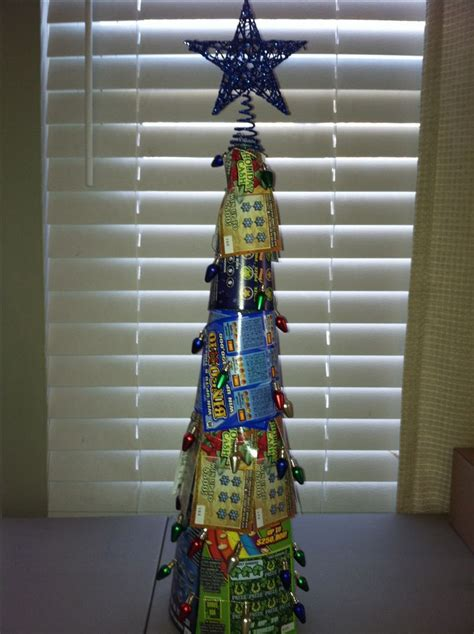 christmas trees decorated with scratch tickets best 25 lottery ticket tree ideas on lottery tickets gold ticket and silent