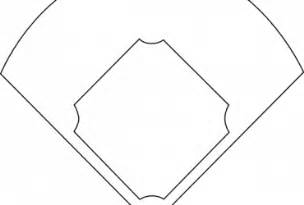 Baseball Field Template by Blank Baseball Field Diagram Printable Wedocable