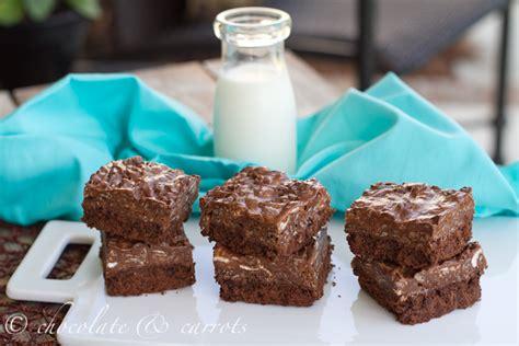 Brownies Manten Crunchy Chocolate chocolate crispy brownies chocolate carrots