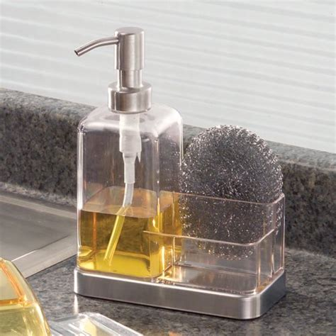 Soap Dispenser For Kitchen Countertop by Interdesign Forma Kitchen Countertop Soap Dispenser