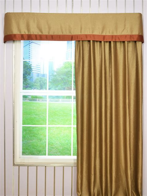 flat curtains swan embossed floral damask flat splicing valance and curtains