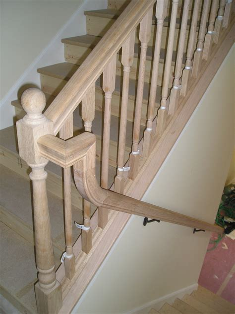 new banister cost cost of new banister and spindles wood railing with
